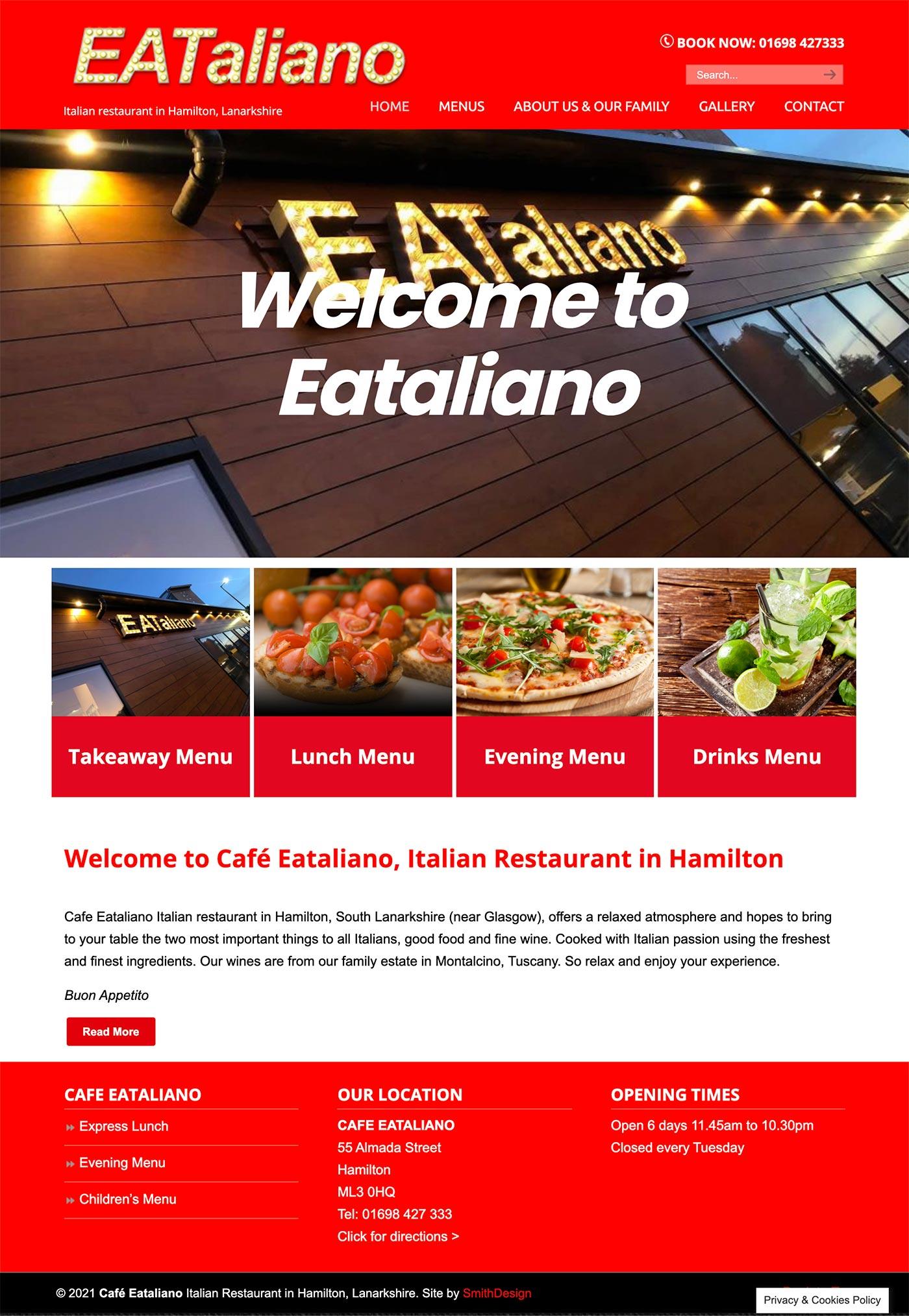 Cafe Eataliano Hamilton